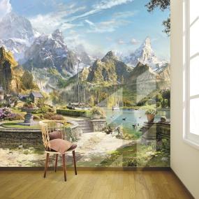 фреска на стену цена