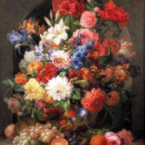 Floral Arrangement by Joseph Nigg